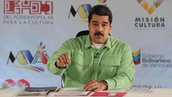 """""""Venezuela es la garantía de paz del continente"""", dijo Maduro."""
