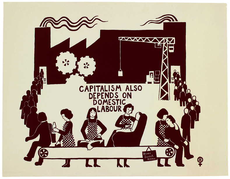 """""""Capitalism Also Depends On Domestic Labour,"""" United Kingdom, 1975"""