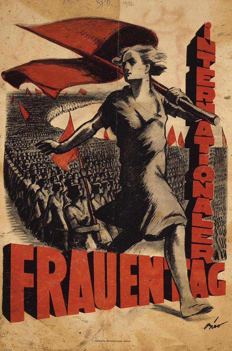 Socialist poster for International Women