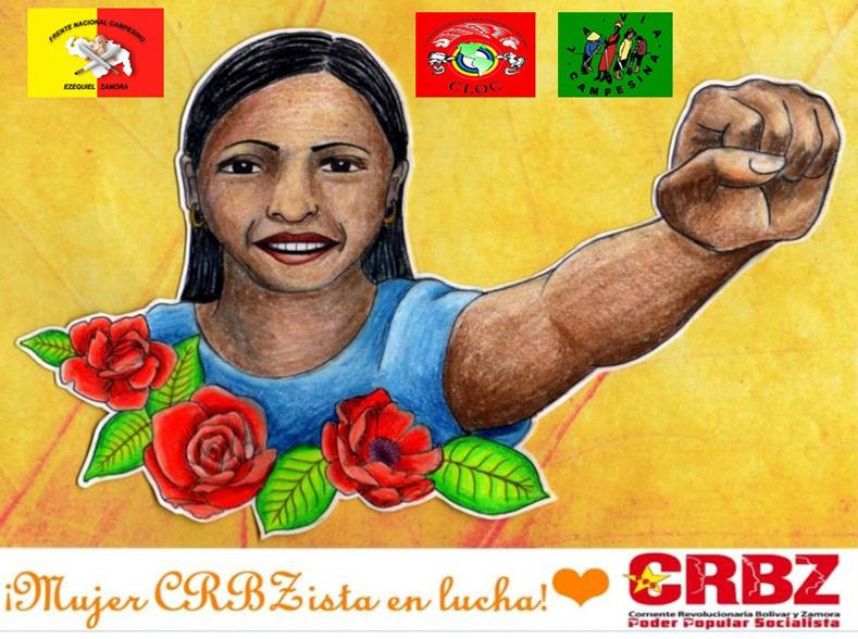 """The Women of Corriente Revolucionarias Bolívar y Zamora Ready for the Struggle!"" Venezuela, 2016"