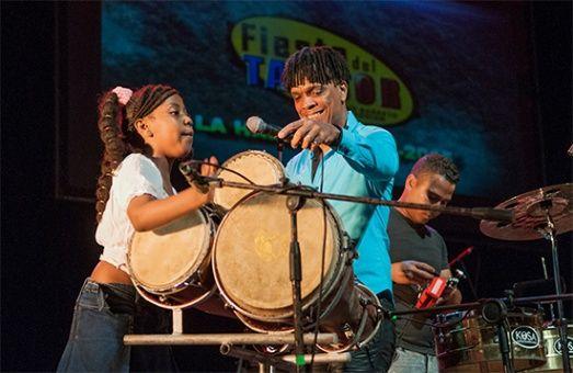Fiesta de la percusión en la Mayor Isla de las Antillas.
