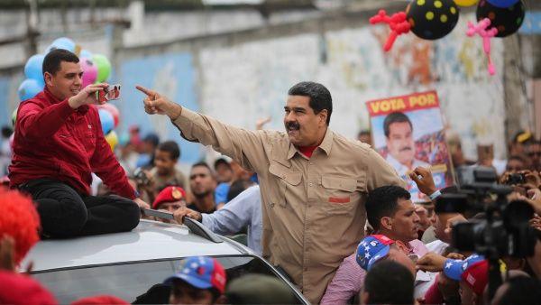 El presidente venezolano estuvo en el estado Yaracuy para celebrar el primer año de los CLAP.