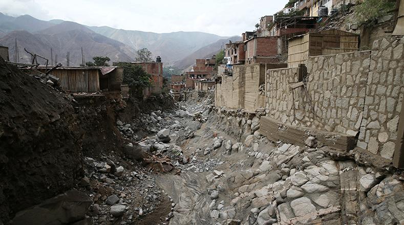 """El presidente Pedro Pablo Kuczynski afirmó que """"hay muchos daños pero son superables""""."""