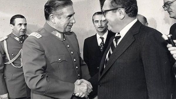 U.S. Secretary of State Henry Kissinger and Argentina