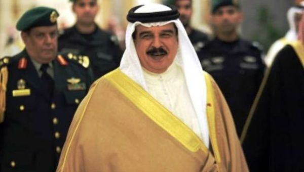 King of Bahrain, Hamad bin Isa Al Khalifa, grants military courts the authority to try civilians.