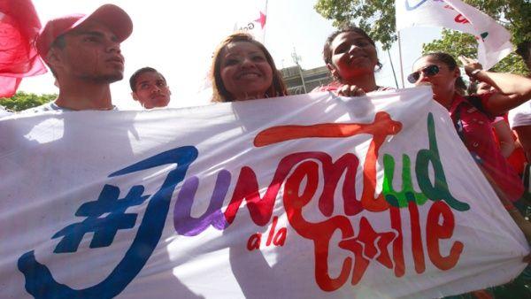 Los jóvenes venezolanos repudian las acciones que atenten contra el Gobierno nacional y la soberanía de la nación.