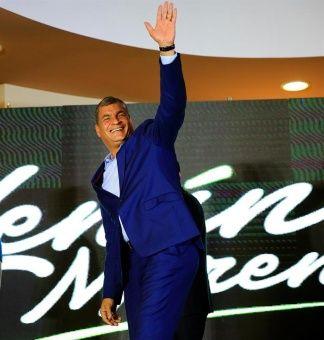 Correa calificó de irresponsable al candidato Guillermo Lasso