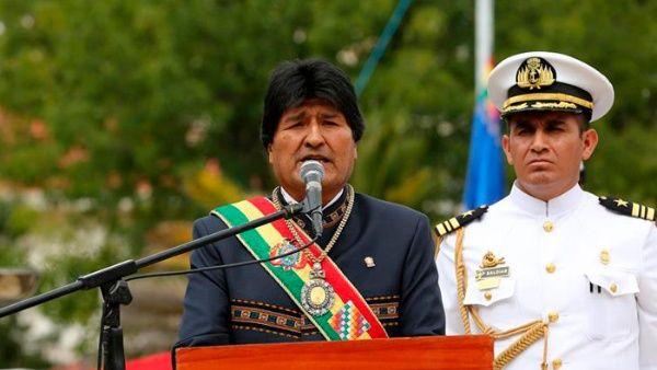 """""""EE.UU. deja al lado a la ONU cuando le conviene"""", denunció el presidente boliviano."""