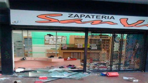 15 millones de bolívares en daños han dejado las protestas de la oposición hasta ahora.