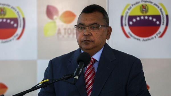 """El ministro aseguró que hay evidencias que vinculan a la derecha venezolana con los recientes actos """"terroristas"""""""