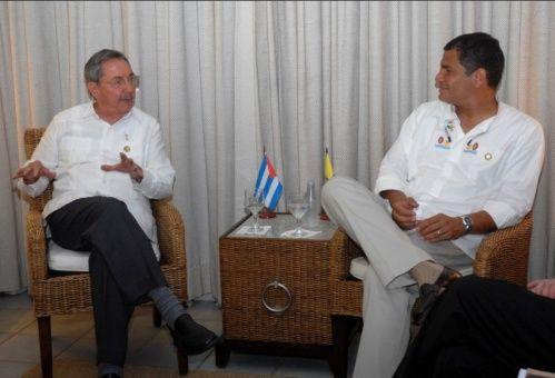 Fabián Solano, embajador de Ecuador en Cuba, expresó que Correa se ha convertido en ese líder latinoamericano que se ha inspirado en las ideas de justicia social.