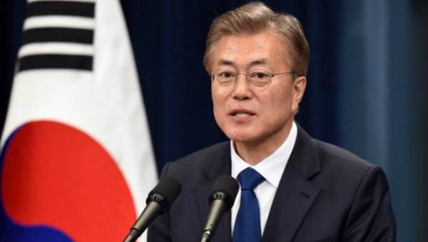 South Korean President Moon Jae-in noted the advancement in the North