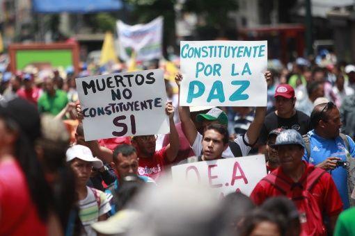 El pueblo venezolano rechaza la violencia promovida por dirigentes de oposición.