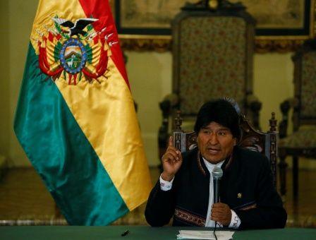 """Morales también ha denunciado el """"silencio cómplice"""" de Almagro sobre los nueve bolivianos detenidos en Chile."""