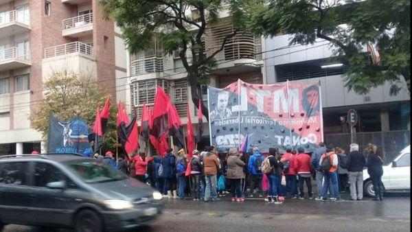 """""""Venezuela no es una amenaza, somos esperanza"""", coreaban los manifestantes."""