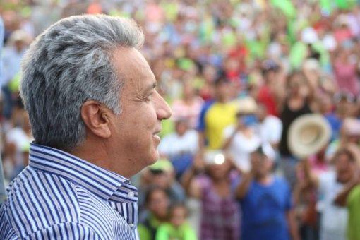 Lenín Moreno toma este miércoles posesión de su cargo como presidente de Ecuador.