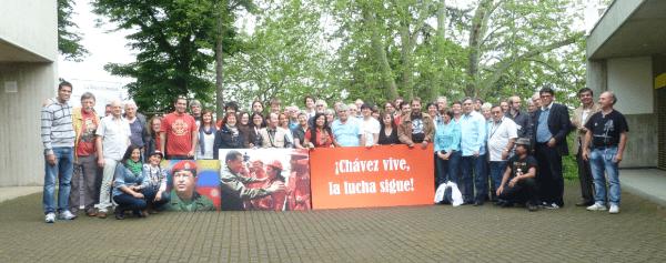 Entre los movimientos sociales firmantes están Jóvenes del Partido Obrero Popular de Suiza, el Comité Apoyo a los Pueblos Originarios de Chile, Dominicanos en Nueva York y otra decena de América Latina y Europa.