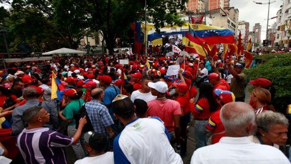El pueblo venezolano expresa su apoyo a la propuesta de la Constituyente, pese a los intentos desestabilizadores de la derecha.