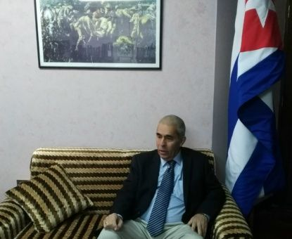 El embajador de Cuba en Bolivia, Benigno Pérez, rechazó las acciones injerencistas de EE.UU. hacia Venezuela.