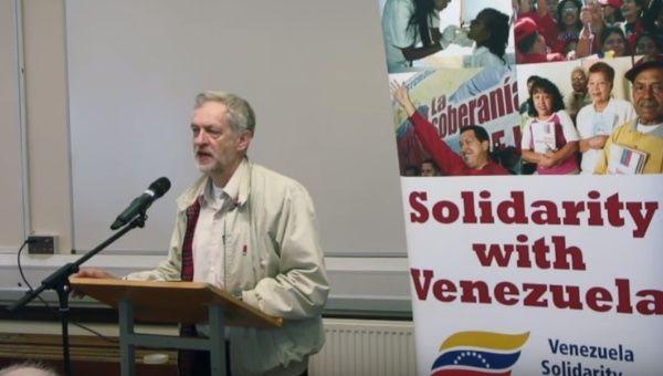 Jeremy Corbyn speaks in support of the Bolivarian Republic of Venezuela.