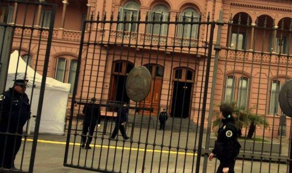 Casa Rosada, sede del Ejecutivo en Argentina.
