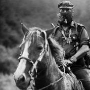 Subcomandante Marcos of the Zapatistas in Chiapas in 1996.