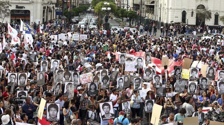 El hecho fue perpetrado por Fujimori y es visto como símbolo de las violaciones a los derechos humanos perpetradas durante el Gobierno del entonces presidente.