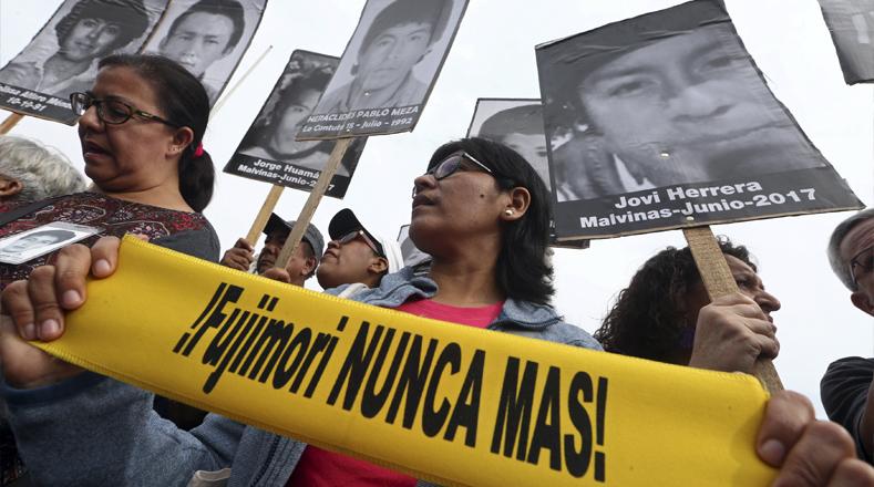 Familiares del caso La Cantuta enviaron una carta en la que solicitan la anulación del indulto a Fujimori porque viola la imparcialidad de evaluación por parte del Estado.