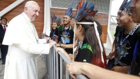 Se trata de la primera visita del papa a Perú.