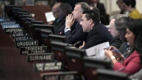 El PCU lamentó la decisión de Uruguay de abstenerse en la votación de la sesión de la OEA contra Venezuela.