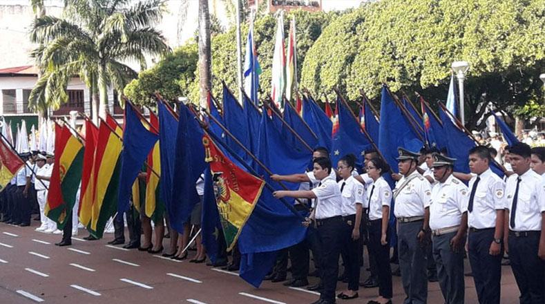 A los actos conmemorativos asistieron instituciones estatales, privadas, cuerpo diplomático, organismos internacionales y sociales.