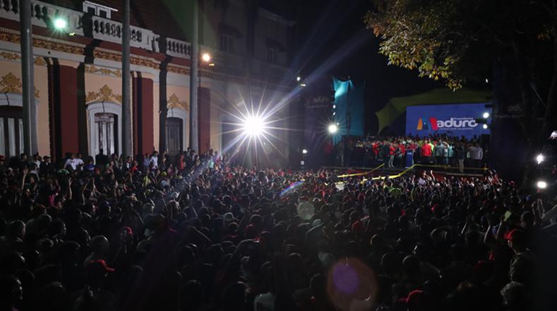 El pueblo de Venezuela se pronunció en un proceso electoral que transcurrió con gran tranquilidad, con gran civismo.