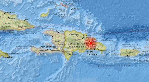 Reportan sismo de magnitud 5,1 en República Dominicana   Noticias   teleSUR