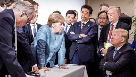 Trump se enfrenta a la UE en la cumbre del G7