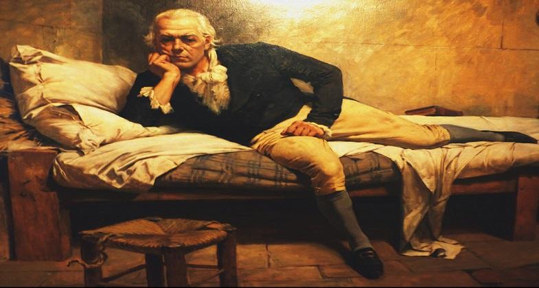 """""""Miranda en La Carraca"""" es una obra creada en el año 1896 por el artista y muestra una imagen de Francisco de Miranda, conocido como el precursor de la Emancipación Americana, apresado en el Penal de la Carraca. Esta obra se encuentra actualmente en la Galería de Arte Nacional en Caracas."""