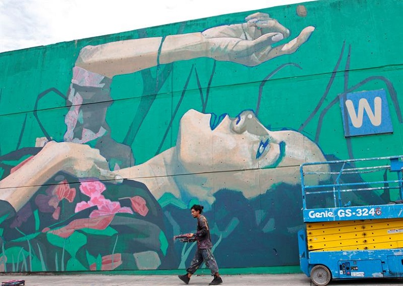 """What we want is to give the people of the Central de Abasto the opportunity to know what art can offer them and to be able to select which mural is their favorite, and become art critics,"" said Gonzalez."