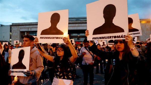 Resultado de imagen para líderes sociales asesinados en colombia