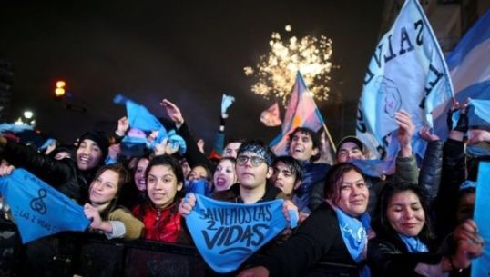 Image score for Argentina's Senate Rejects Bill Proposed Bill to Legalize Abortion