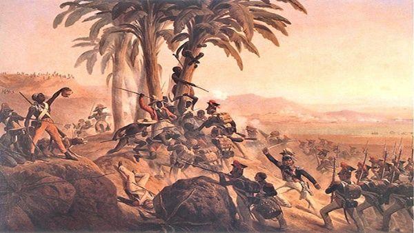 Resultado de imagen para Fotos de la rebelión de los esclavos de Saint Domingue