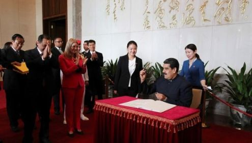 Venezuela  China Sign Security  Energy  and Finance Agreements     Venezuela China relations have been built up since 1999