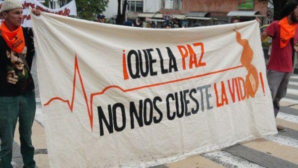 Resultado de imagen para lideres sociales asesinados en colombia