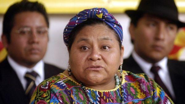 Rigoberta Menchú, Premio Nobel de la Paz 1992, es una activista indígena guatemalteca.