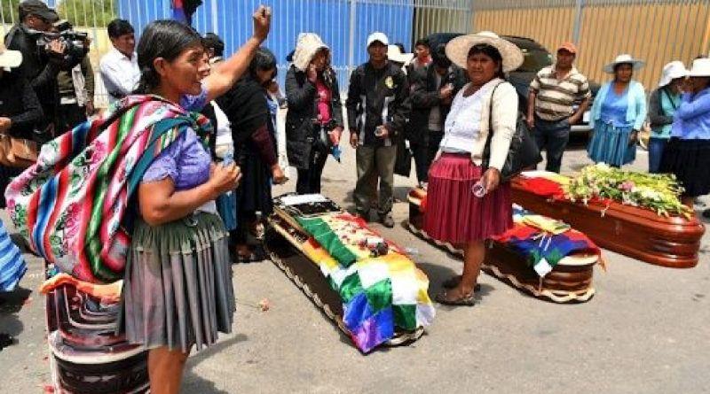 Bolivia. Escasez y más asesinatos del ejercito