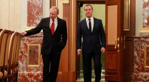 Russia: Prime Minister Medvedev Resigns After Putin Speech ...
