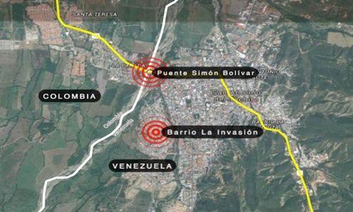 Colombia Venezuela De Y Frontera