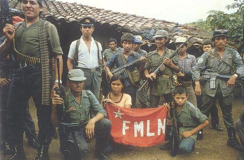 FMLN guerrillas in El Salvador