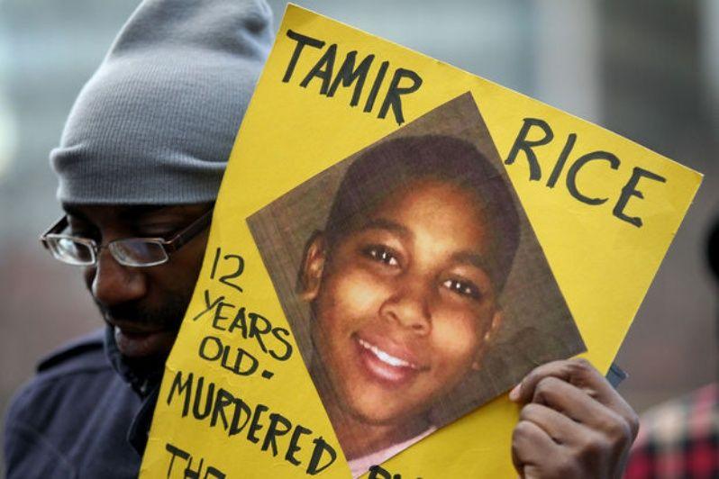 Tamir Rice fue asesinado por tener una pistola de juguete.
