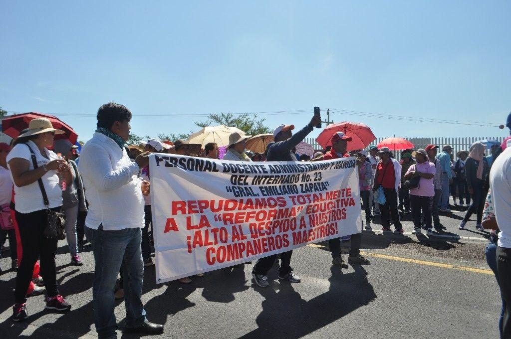 Los maestros de la CNTE agradecen el respaldo de todos los sectores de México en defensa de la educación en el país.