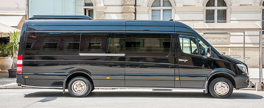 transporte van Torres del Paine