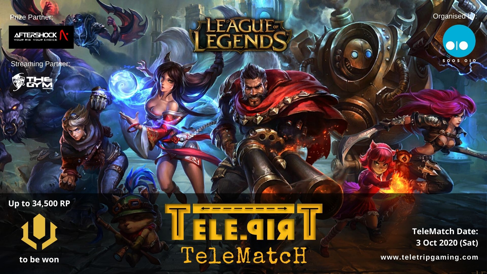 TeleMatch League of Legends - 3 Oct 2020